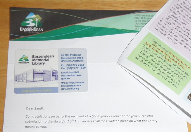 Bassendean Library Confirmation Letter