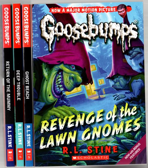 Goosebumps Series by R.L. Stine has been thrilling young readers since 1992.Picture here with the new look covers
