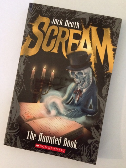 The Haunted Book by Jack Heath