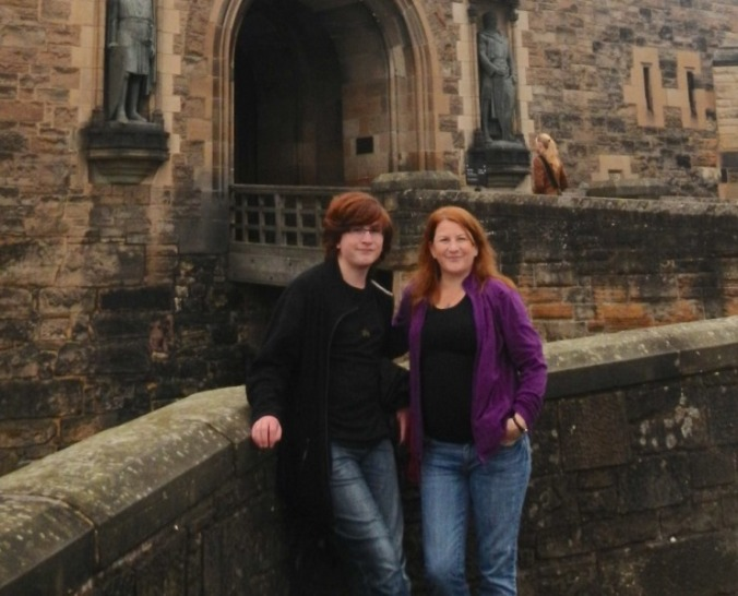 Jarryn and Sandi - Scotland 2013